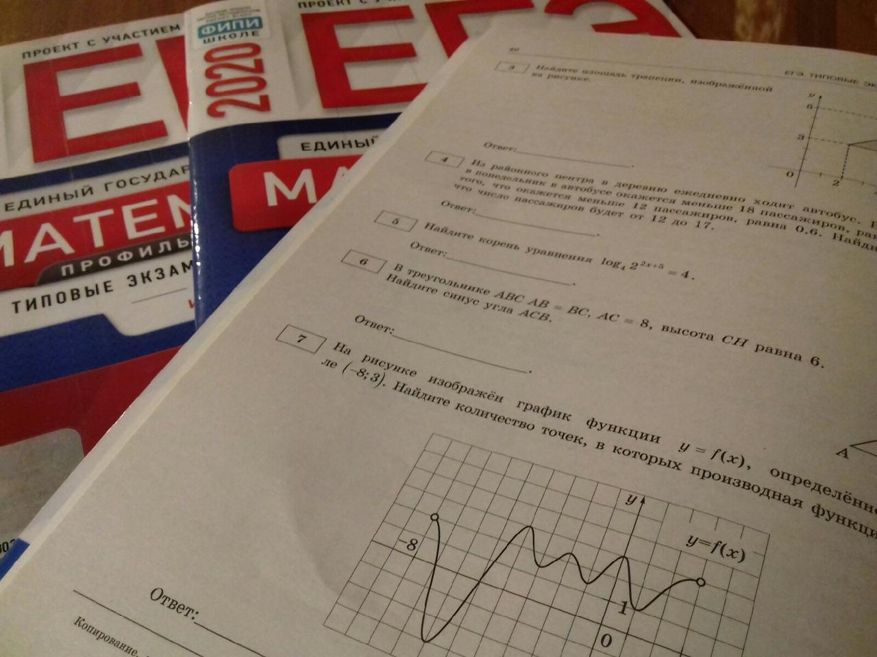 Итоги первого полугодия подготовки к профильному ЕГЭ по математике 2021 (10 класс).